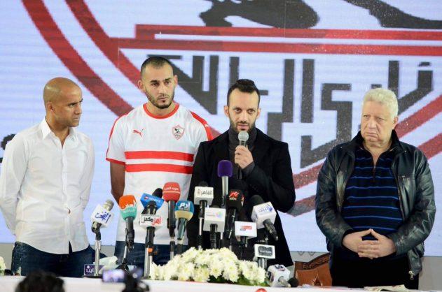 Moroccan striker Boutaib joins Egypt's league leaders Zamalek