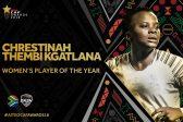 Banyana's Thembi Kgatlana and Desiree Ellis win Caf awards