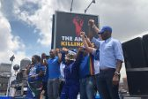 WATCH: Maimane unveils billboard listing names of ANC's dead 'victims'