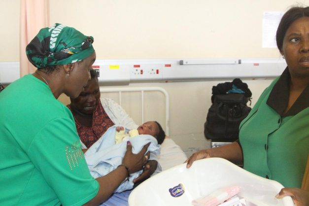 African Boy Names: Mother Names Newborn Son Khongolose On ANC's 107th