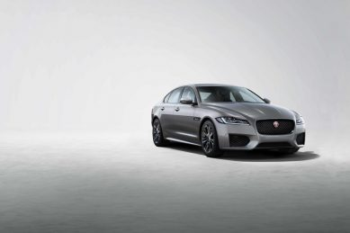 Jaguar introduces the  XF Chequered Flag special edition