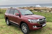 Toyota Land Cruiser is a real bruiser