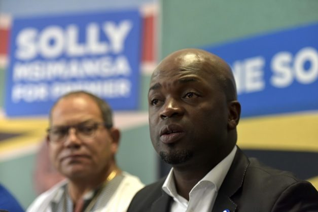 DA Gauteng premier candidate, Solly Msimanga briefs media about his decision to step down as Tshwane mayor at the DA headquarters in Bruma, Johannesburg, 18 January 2019.  Picture: Neil McCartney