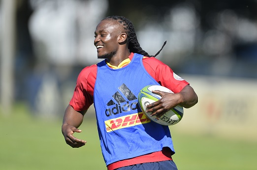 Seabelo Senatla during the DHL Stormers training session at High Performance Centre on April 30, 2018 in Cape Town, South Africa. (Photo by Ashley Vlotman/Gallo Images)