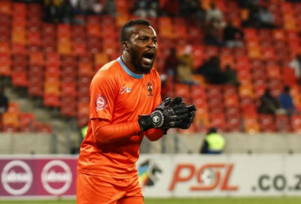Harold Ndlovu of Polokwane City during the Absa Premiership match between Chippa United and Polokwane City at Nelson Mandela Bay Stadium on December 12, 2018 in Port Elizabeth, South Africa. (Photo by Michael Sheehan/Gallo Images)