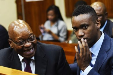 Jacob Zuma during lockdown: A shower and eleventy-four days