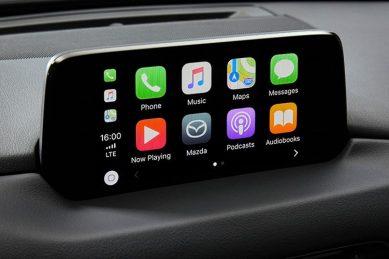 Mazda SA introduces Apple Carplay and Android Auto