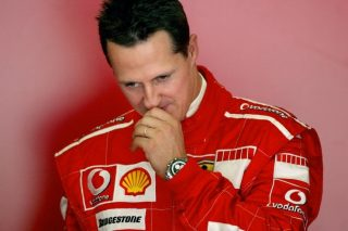 Here's to better days for Schumi
