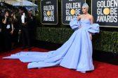 Stars sparkle on Golden Globes red carpet