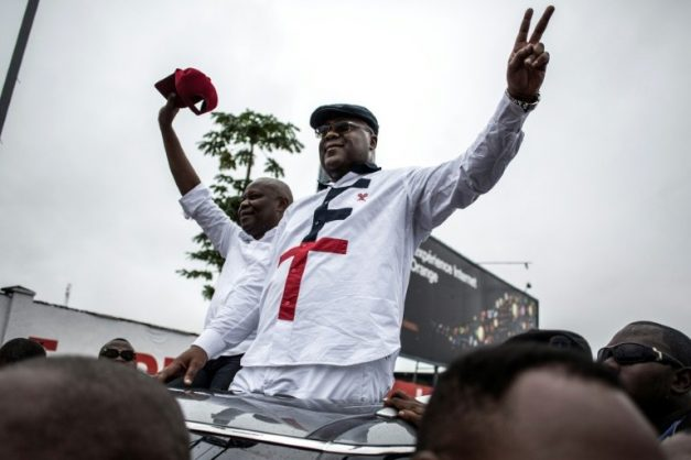 Felix Tshisekedi represents the veteran face of DR Congo's mainstream opposition after taking up his late father's mantle. AFP/File/John WESSELS