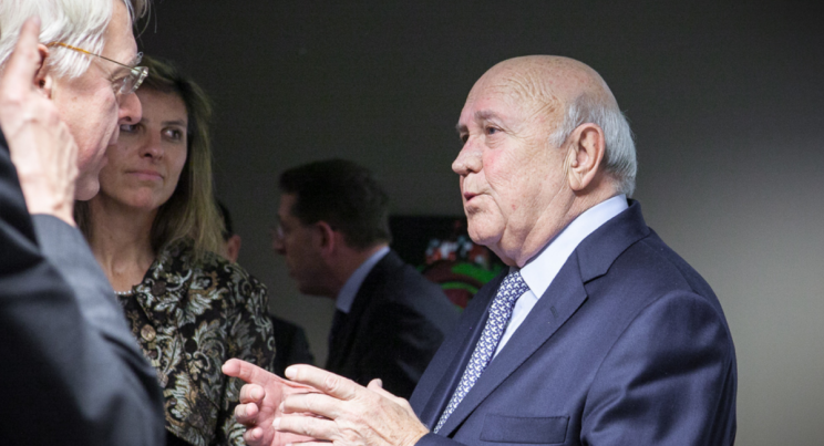 Give back your Nobel, FW de Klerk, says EFF