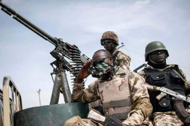 Nigeria's army appears to be struggling to end the insurgency by better-armed militants affiliated to Islamic State. AFP/STEFAN HEUNIS