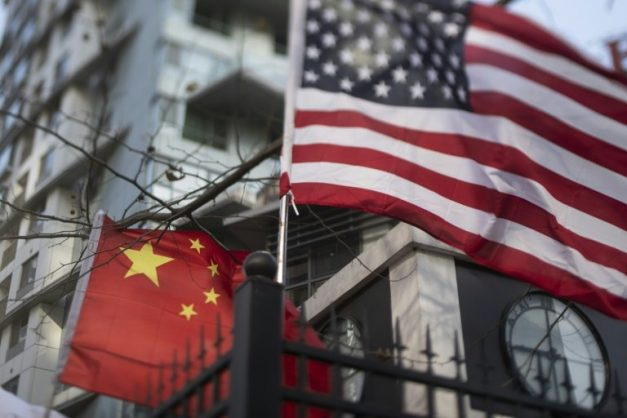 The US-China trade dispute already is inflicting collateral damage. AFP/File/FRED DUFOUR