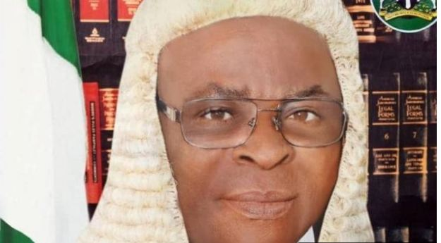 Nigeria's chief justice doesn't pitch for his own court case