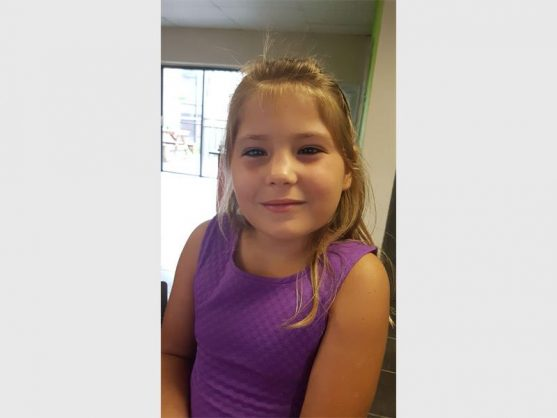Bronwyn Eloff (8), a pupil at Suid-Natal Primary, died after falling three storeys from a block of flats in Manaba.
