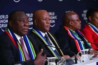 Land issue no longer the 'ugly ogre' it was made out to be, Ramaphosa tells WEF