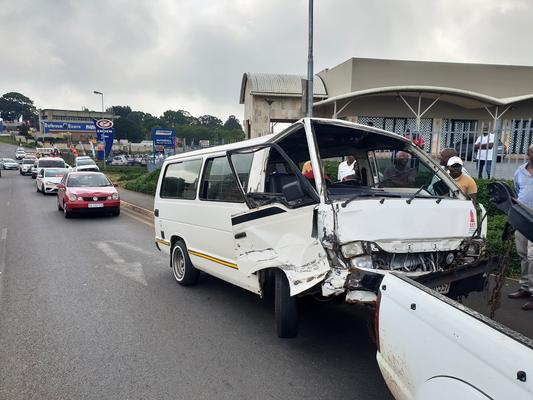 FILE PHOTE: A taxi collision in KwaZulu-Natal. PHOTO: Supplied/ Rescue Care Paramedics.
