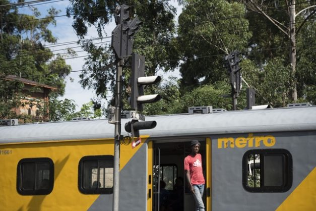 Train signalling systems are seen near Langlaagte Station, Johannesburg, 10 January 2019. Picture: Michel Bega