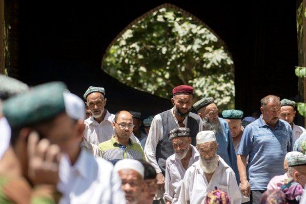 UK condemns Chinese 'barbarism' against Uighur minority