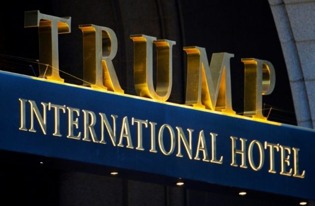 Trump ditches plans for new hotels – New York Times