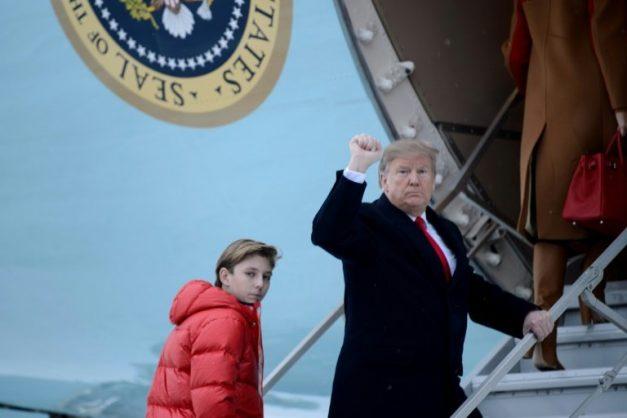 Trump prefers soccer for son over 'dangerous' gridiron