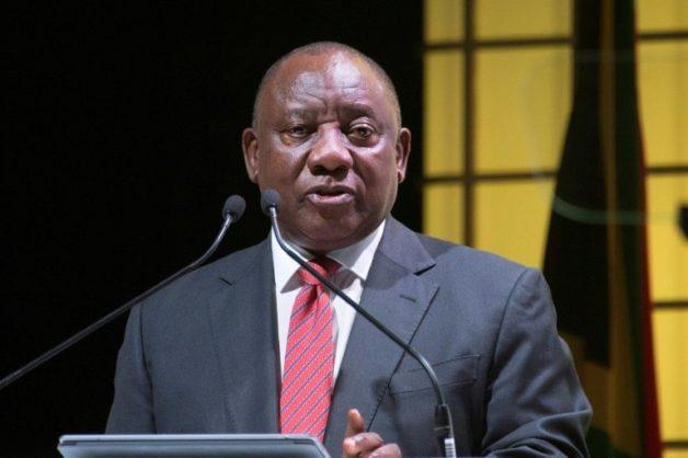 President Cyril Ramaphosa. AFP/File/RODGER BOSCH