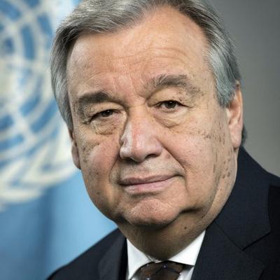 UN Secretary-General Antonio Guterres. Photo: UN