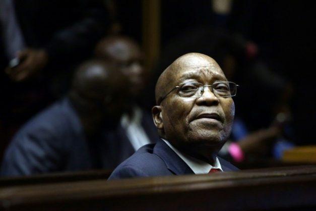 Jacob Zuma. POOL/AFP/File/Phill MAGAKOE