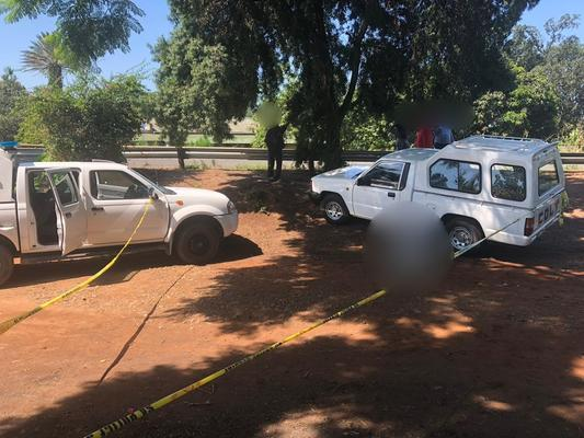 February 9 - A man was shot dead in unknown circumstances outside a school near Tongaat, north of Durban on Friday afternoon. Photo: Netcare 911  February 9 - A man was shot dead in unknown circumstances outside a school near Tongaat, north of Durban on Friday afternoon. Photo: Netcare 911