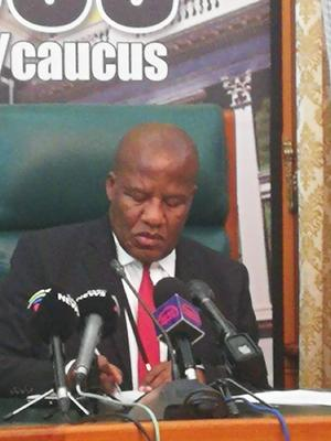 'The path to redemption is through the cross' – Mthembu quotes scripture