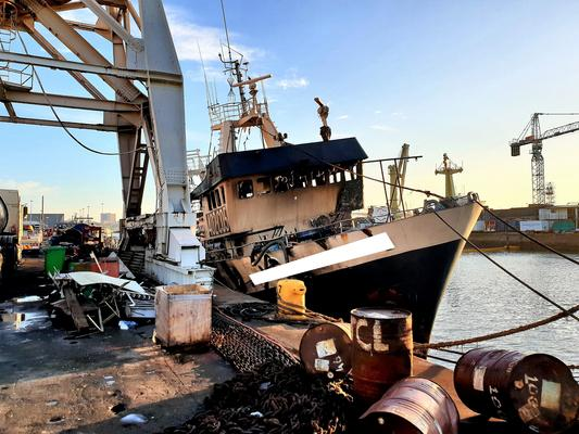 Six people killed after ship catches fire at Durban Harbour