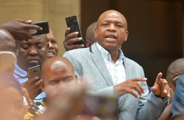 Mahumapelo absent at North West Sopa