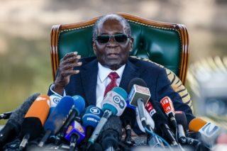 Mugabe still in Singapore hospital since April: Mnangagwa