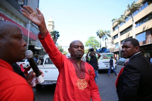 Shack dwellers welcome 'arrest' of Durban's 'gangster mayor'