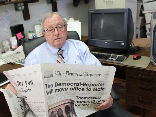 Picture: Democrat-Reporter publisher Goodloe Sutton.