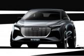 Audi teases another e-tron concept with sketches ahead of Geneva debut