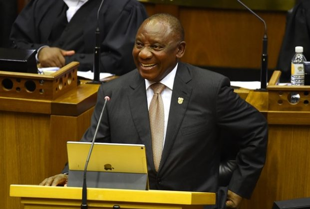 President Cyril Ramaphosa addresses the nation at the national assembly.This is Ramaphosa's second state of the nation address,after taking the reigns from President Jacob Zuma who resigned in December 2018.  Picture: Phando Jikelo /African News Agency (ANA)