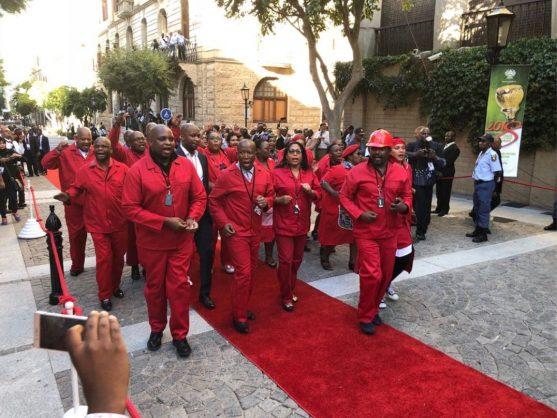 Malema assasination suspicions no excuse for slapping – Parliament