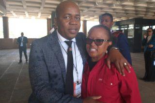 EFF's Mandisa Mashego says Mzwandile Masina gave her a 'hijack hug'