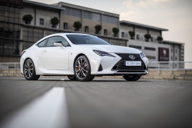 DRIVEN: Lexus RC 350 F Sport is one good-looking car