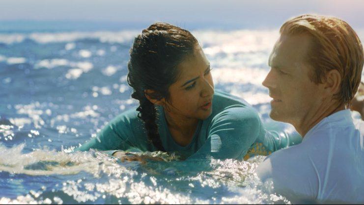 Carishma Basday and Greg Kriek in Deep End.