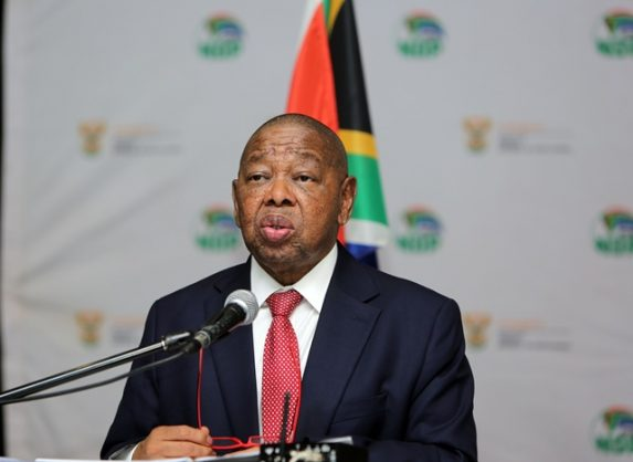 Minister of Transport Blade Nzimande addressing the Inaugural Maritime Transport Dialogue held at Elangeni Hotel, Durban, 28 February 2019. Picture: Motshwari Mofokeng / African News Agency (ANA)