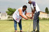 Golfer Thandiwe Pringle has beaten the odds