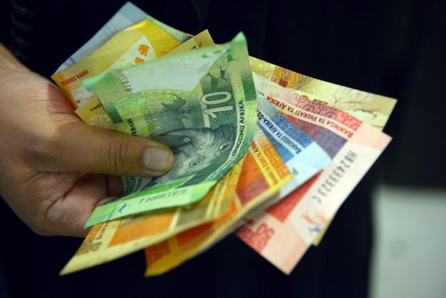 File photo of South African currency, photo by Karen Sandison / African News Agency (ANA)