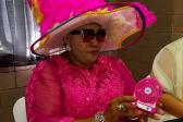 MEC's flamboyant outfit leaves social media speechless