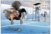 Serena and Nike Celebrate Crazy Women