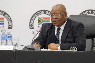 Zondo dismisses Judge Makhubela's postponement bid at state capture inquiry