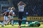 Spurs stunned as Burnley ruin Kane's return