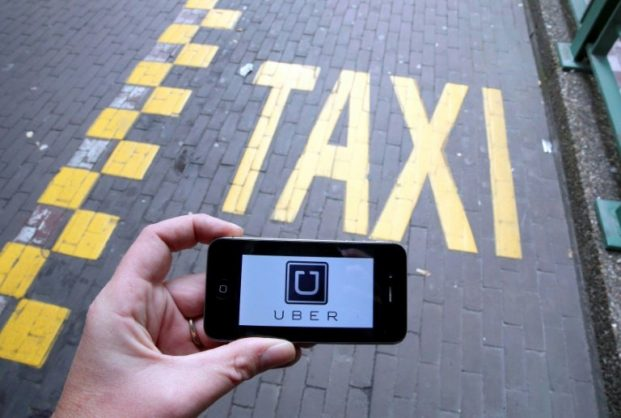 Uber says it has had four million customers in Egypt since launching there in 2014. BELGA/AFP/File/NICOLAS MAETERLINCK