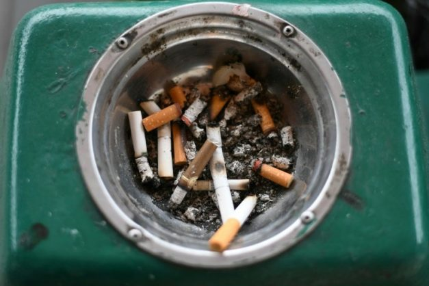 The proposed law, introduced by local Democratic representative Richard Creagan, would effectively amount to a cigarette ban by 2024. AFP/File/MOHD RASFAN